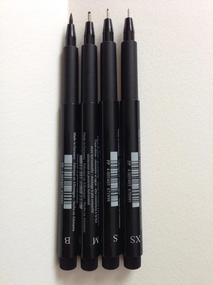 pen size