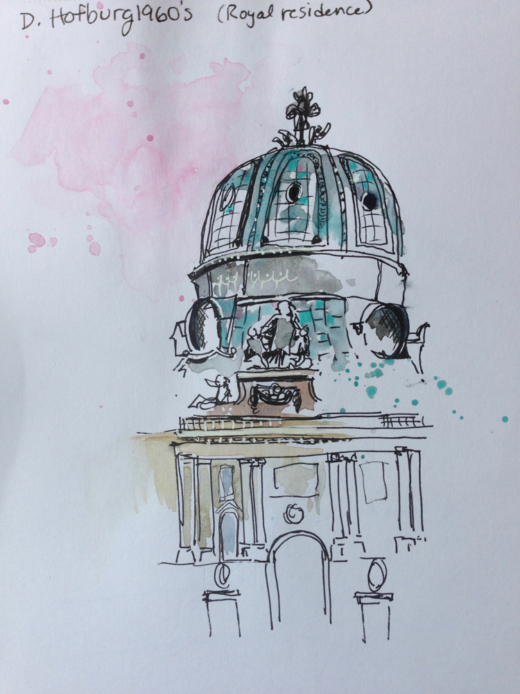 teal dome